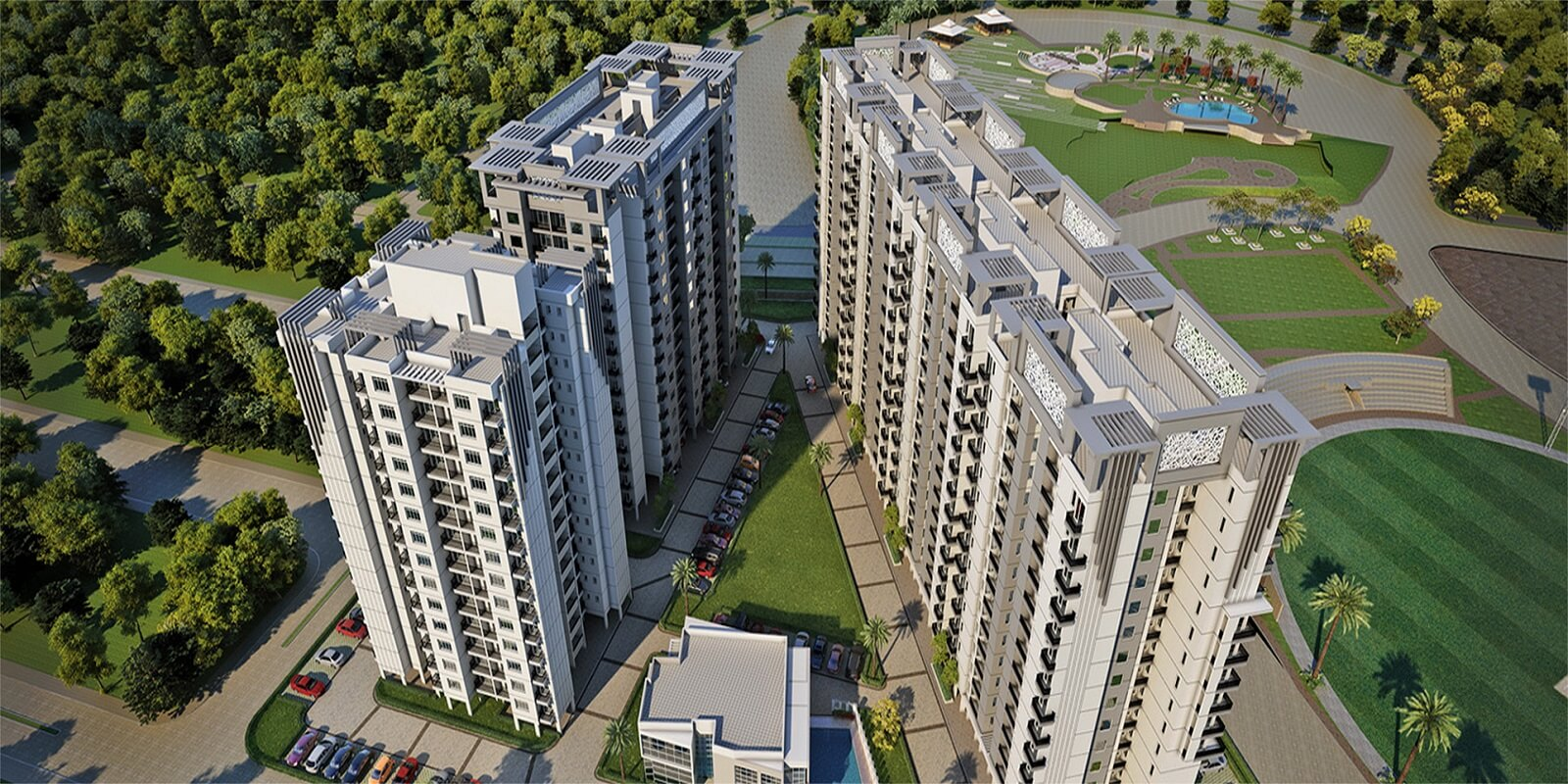 paarth republic carnation tower project large image1