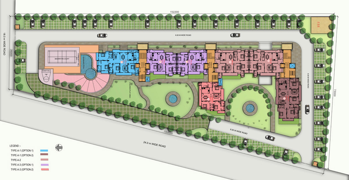purvanchal kings court master plan image1