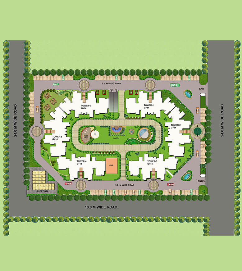 tulsiani urban woods master plan image1