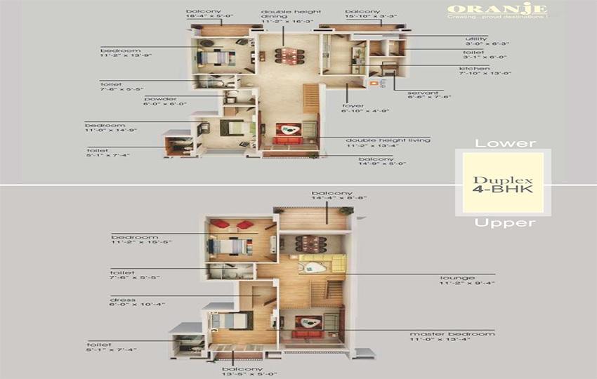 emaar orange castle apartment 4 bhk 3235sqft 20200813130810