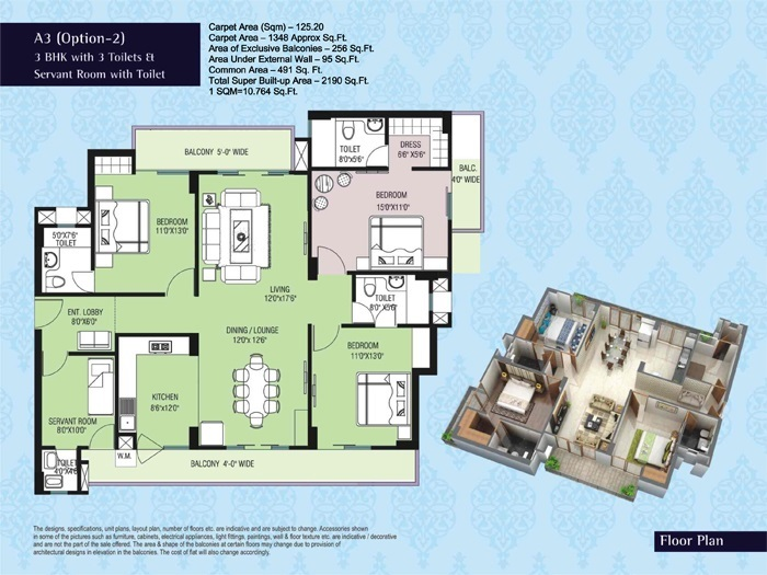 purvanchal kings court apartment 3 bhk 1348sqft 20203913103909