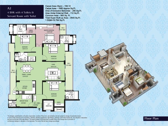 purvanchal kings court apartment 4 bhk 1680sqft 20204213104208