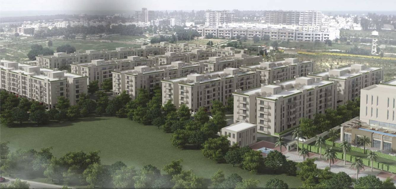 alpha g corp meerut one project tower view2