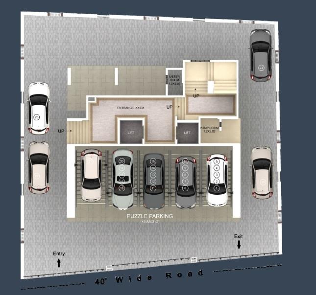 aayush aarna project master plan image1