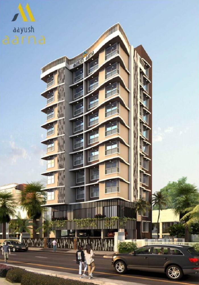 aayush aarna project tower view1