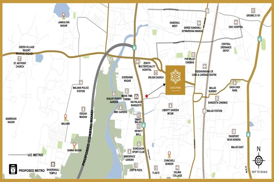 ahuja linkpark project location image1
