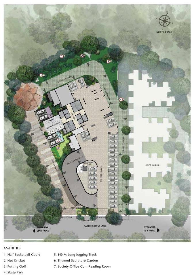 ahuja linkpark project master plan image1