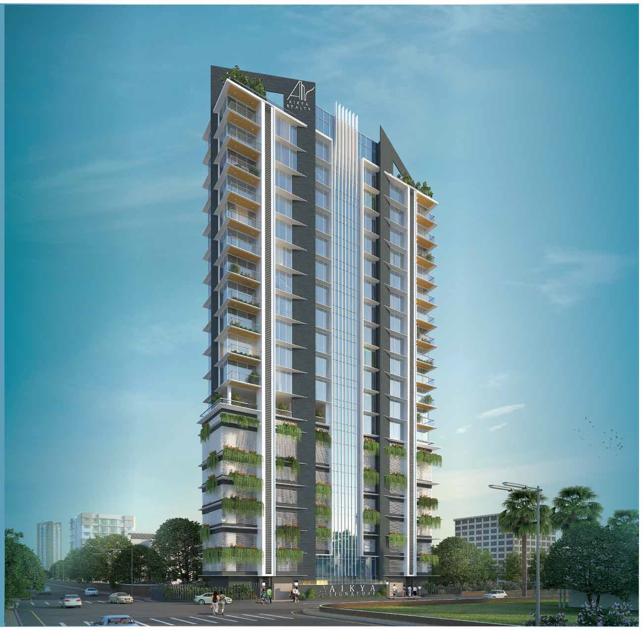 aikya signature project tower view1