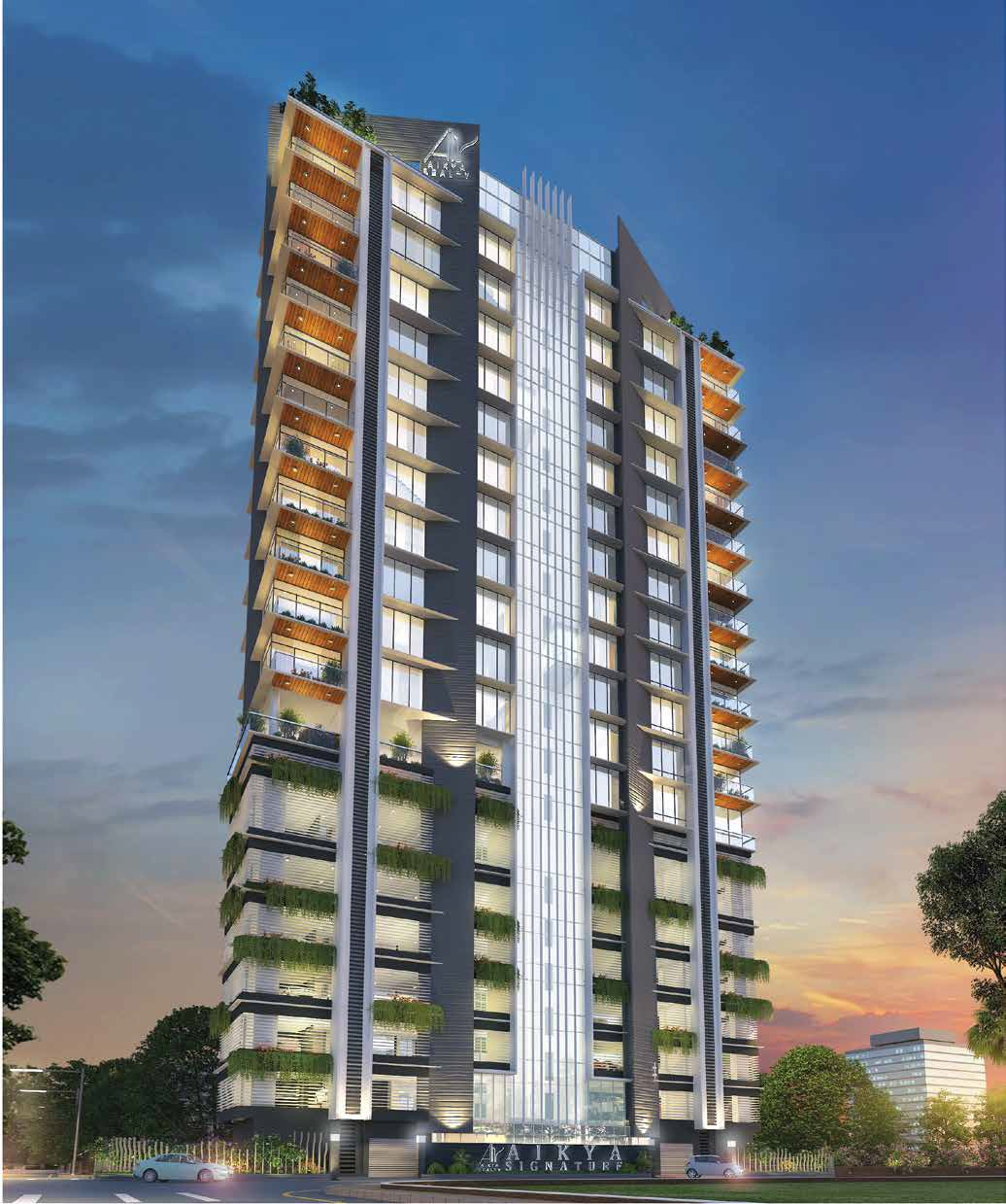 aikya signature project tower view2