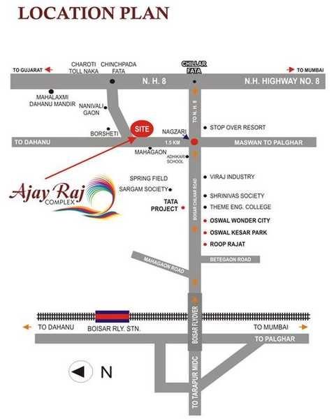 ajay raj complex project location image1