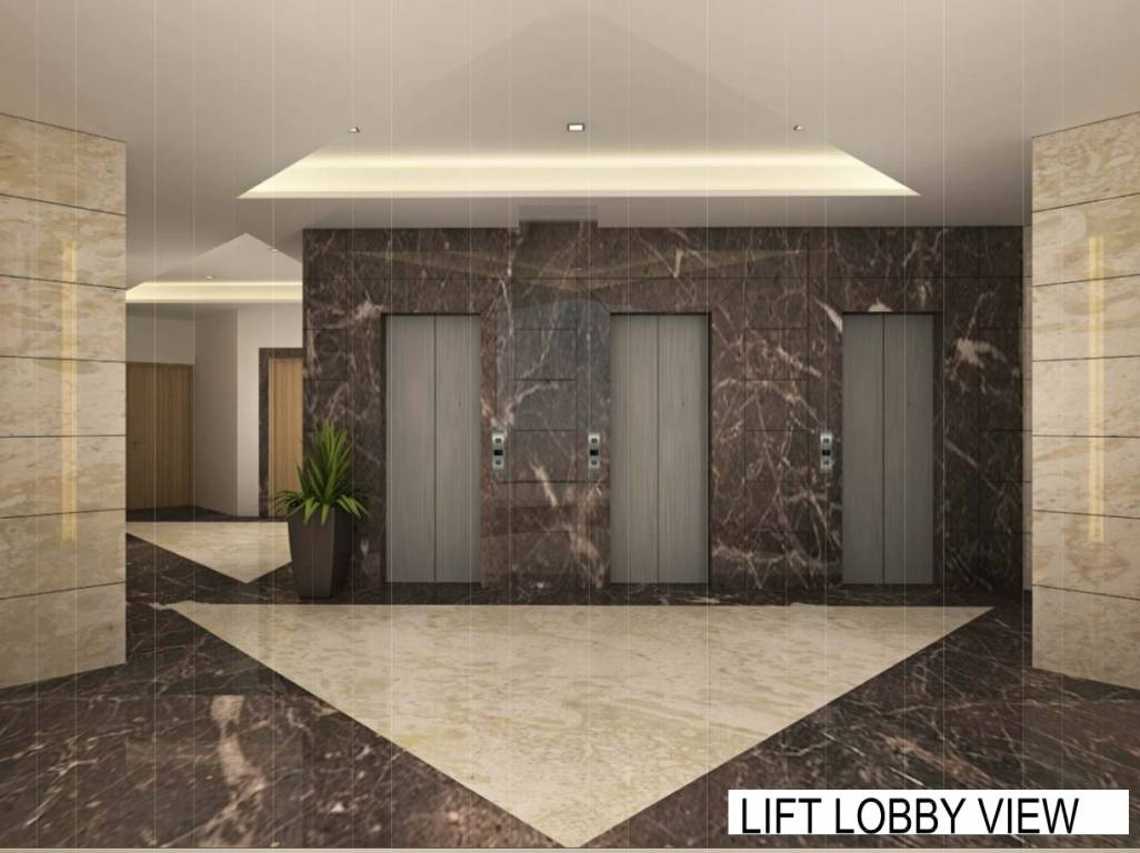 ajmera yogidham new era project lift lobby image1