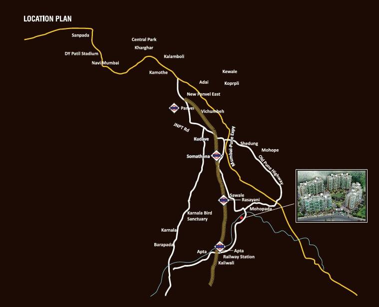 akshar emperia garden location image1