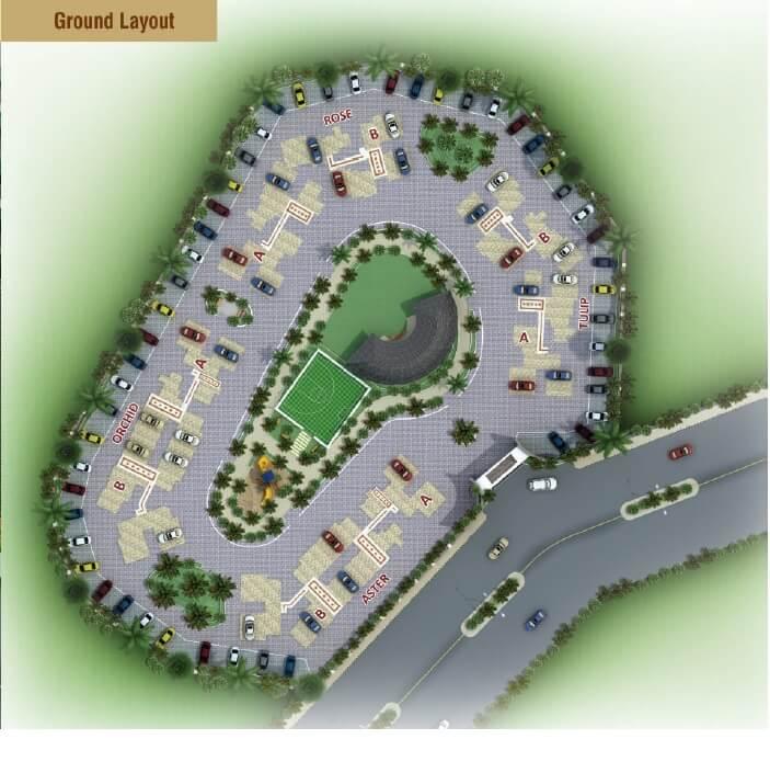 akshar emperia garden master plan image1