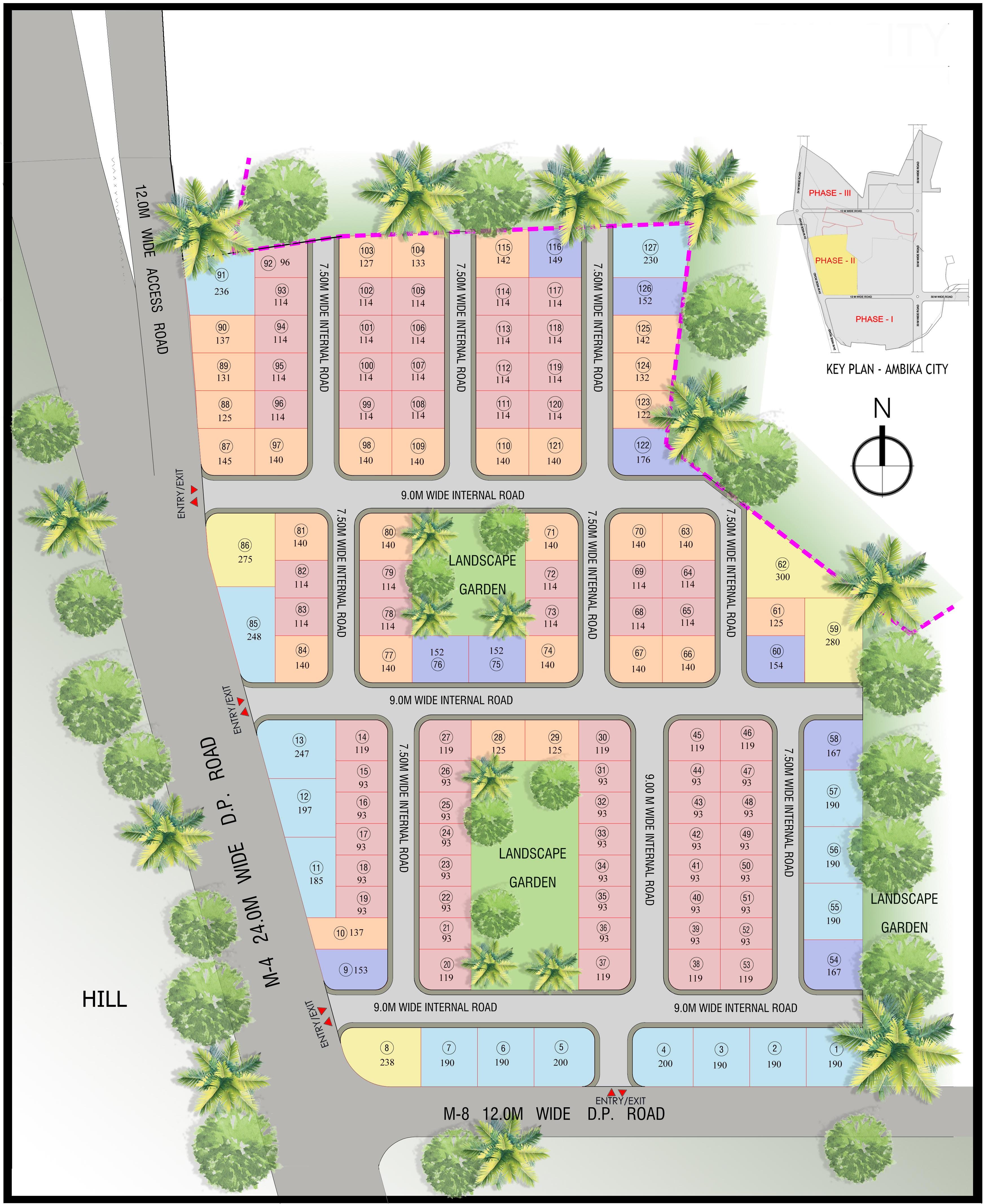 ambika city master plan image1