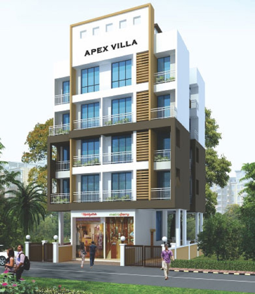 apex villa project tower view1