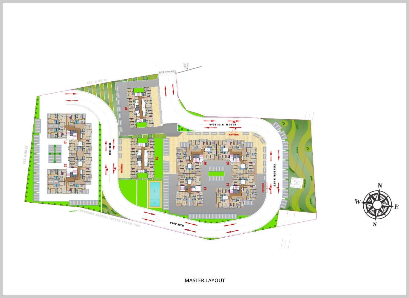 arihant aloki phase ii master plan image5