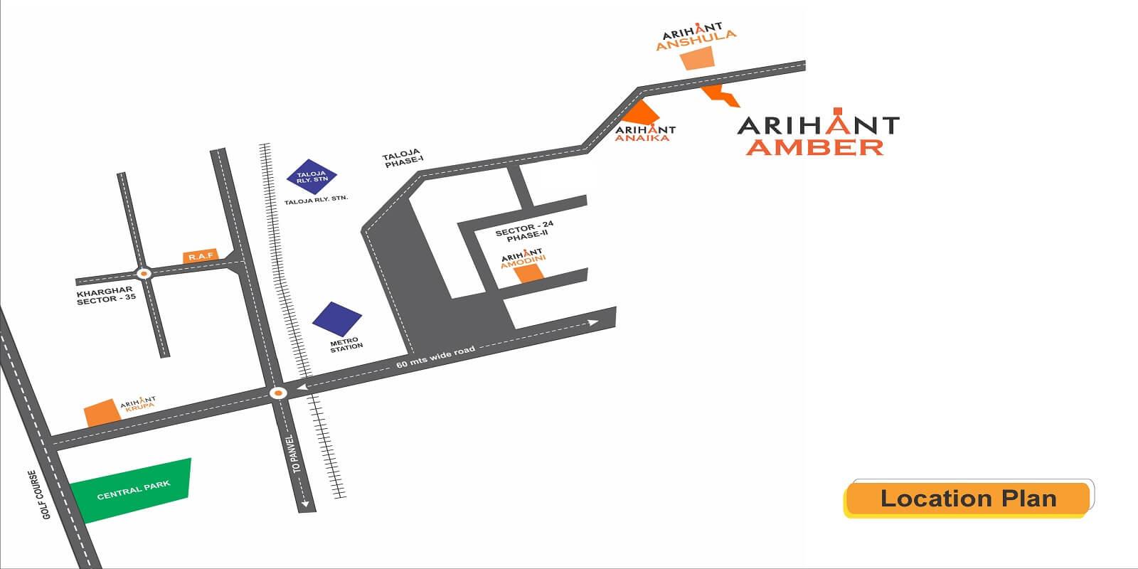 arihant amber location image1