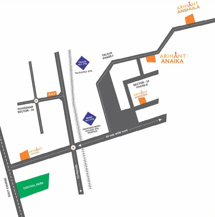 arihant anaika location image1