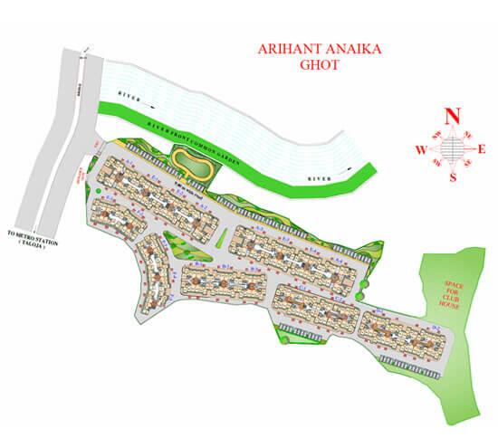 arihant anaika master plan image1