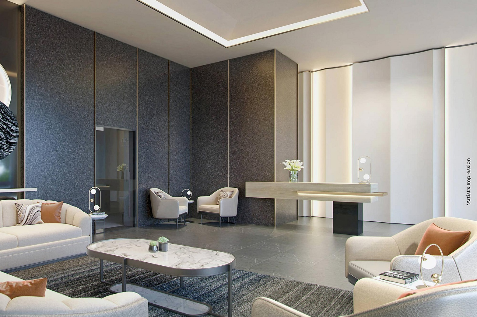 chandak 34 park estate project apartment interiors1