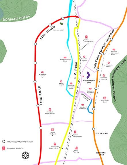 chandak nishchay wing b location image6