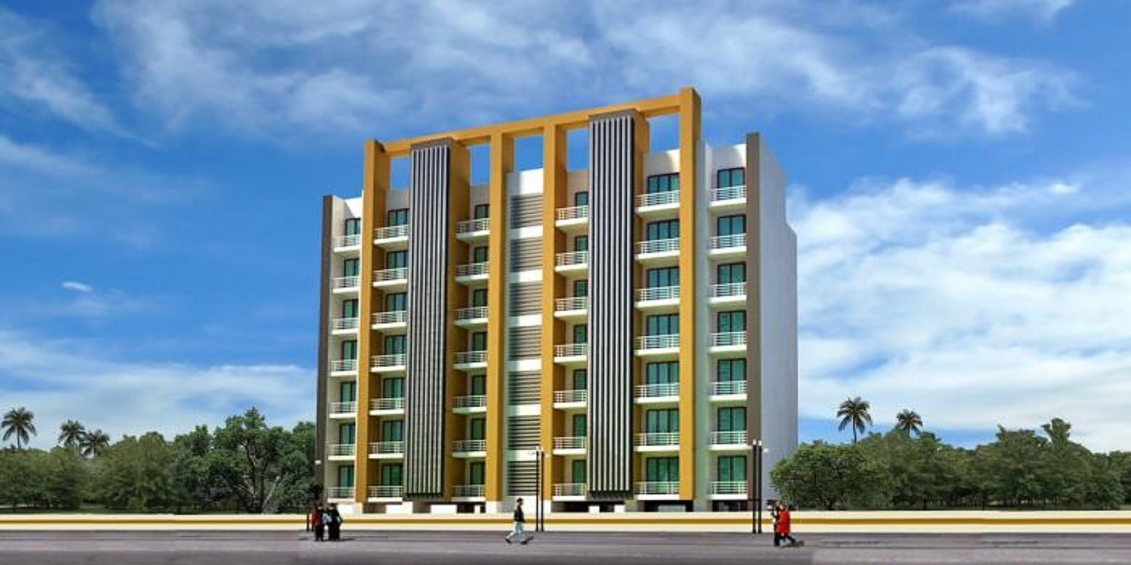 dhanista sunshine apartments project project large image1