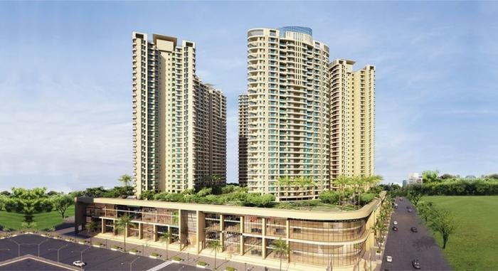 dosti group imperia project tower view1