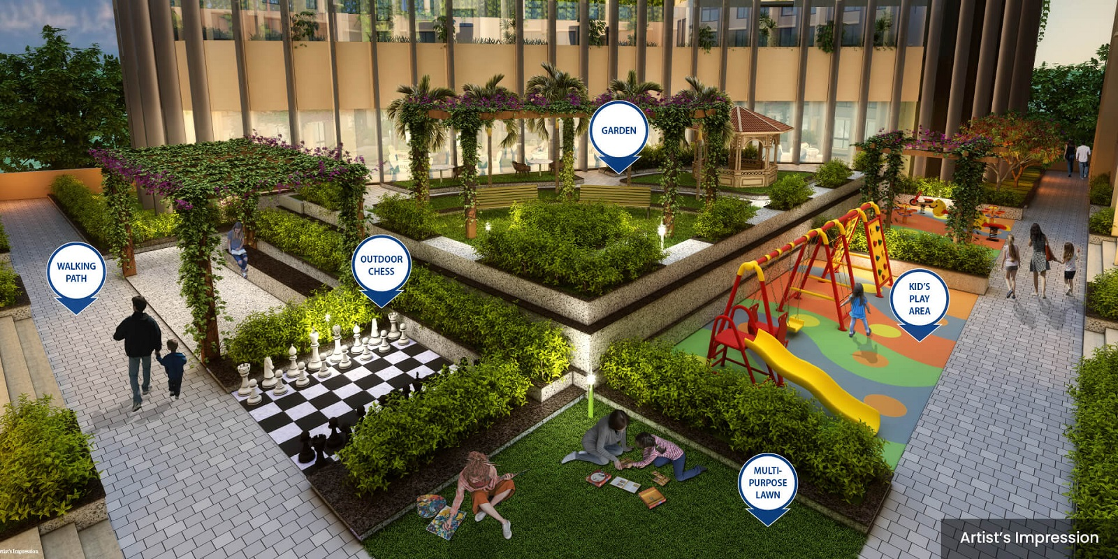 dosti oro 67 project amenities features4