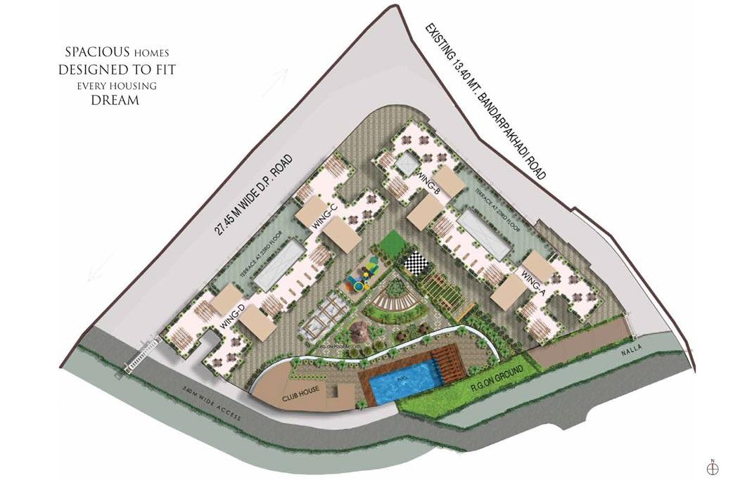 dosti oro 67 project master plan image1