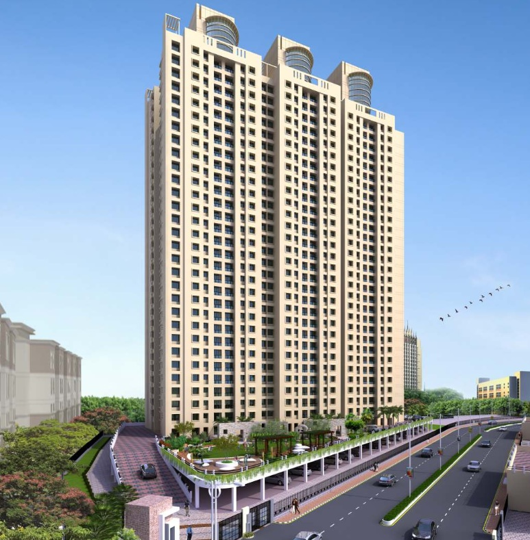 dosti vidisha project tower view1