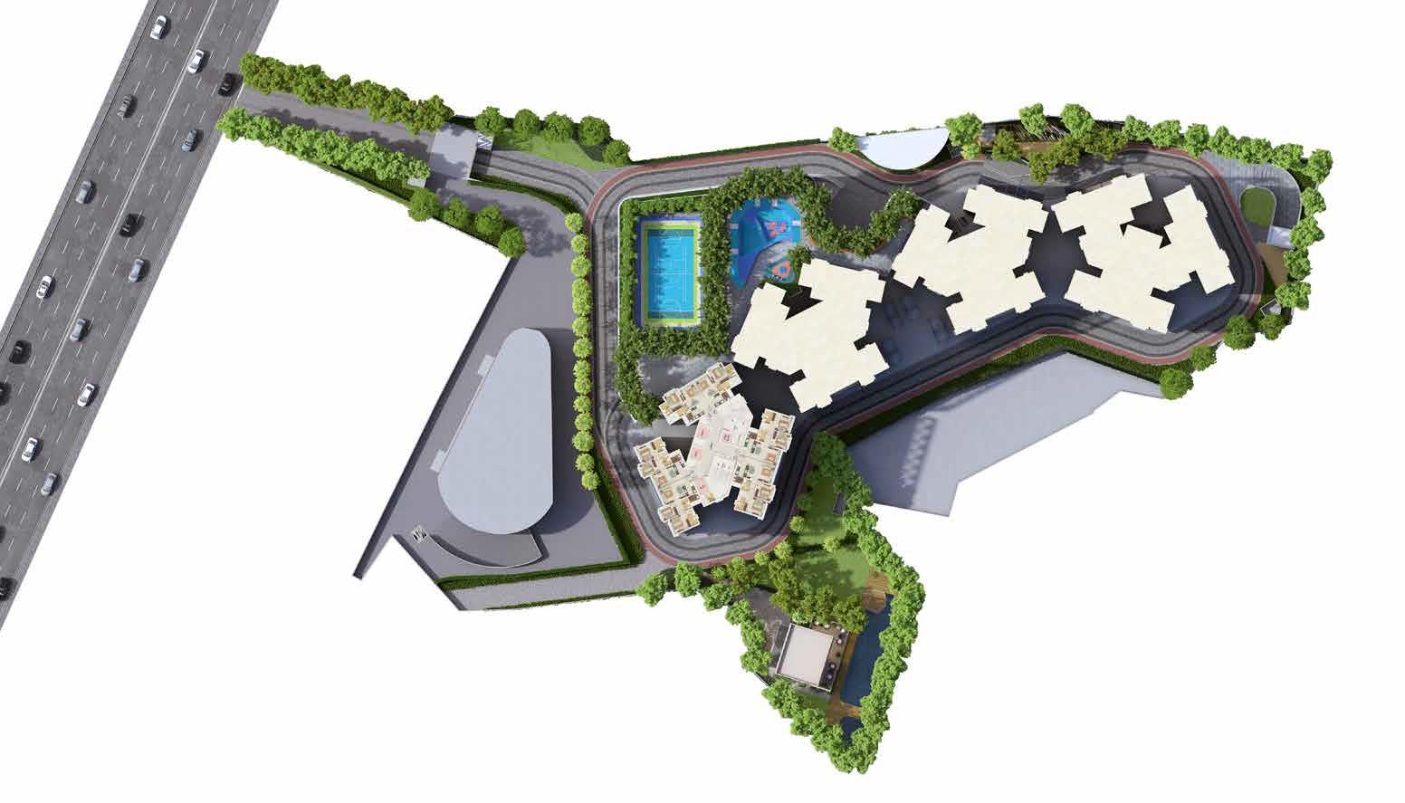 dynamix avanya project master plan image1