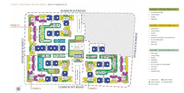 ekta parksville phase 4 master plan image4