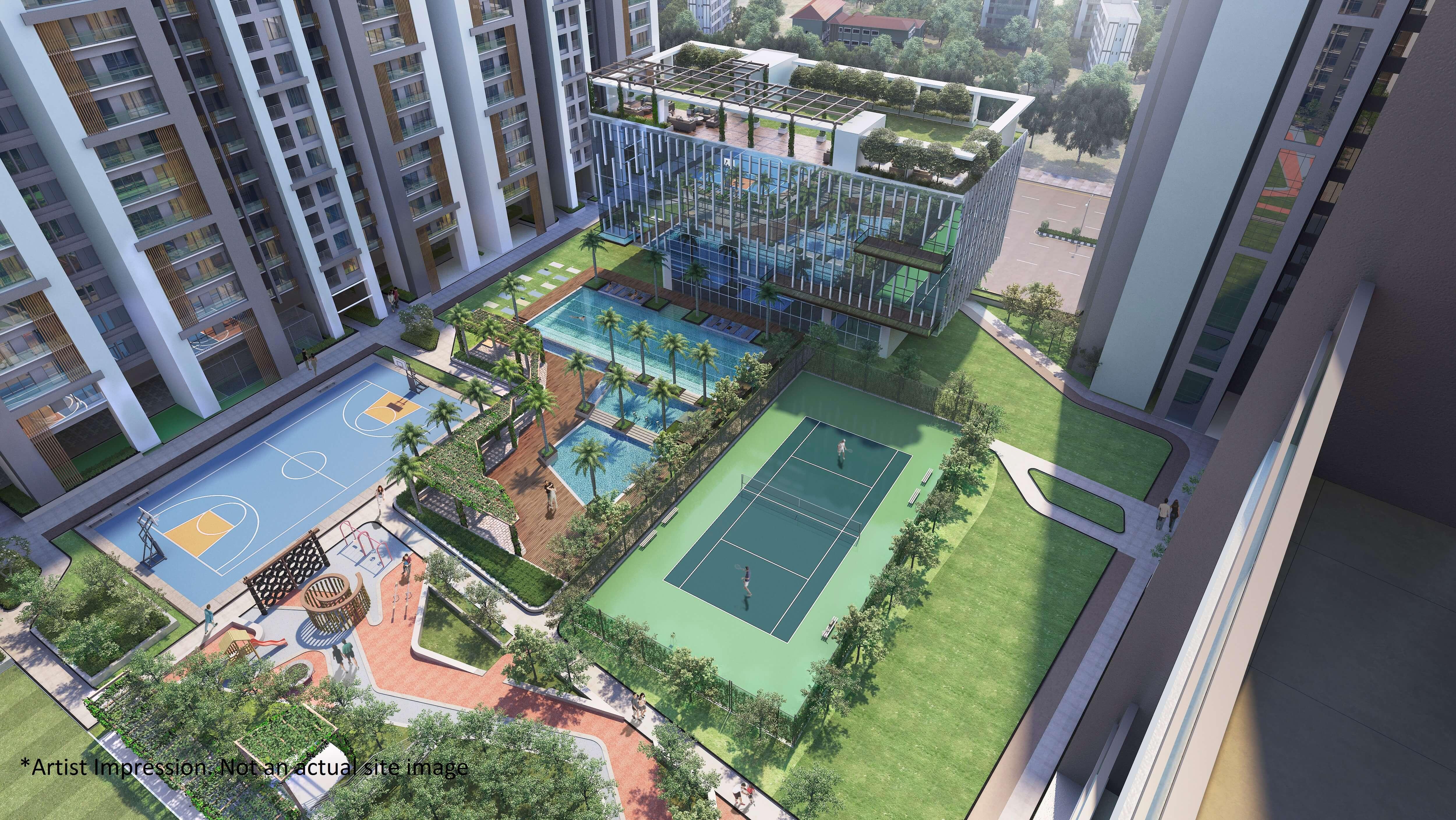 godrej alive sports facilities image1