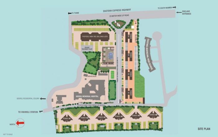 godrej garden enclave project master plan image1