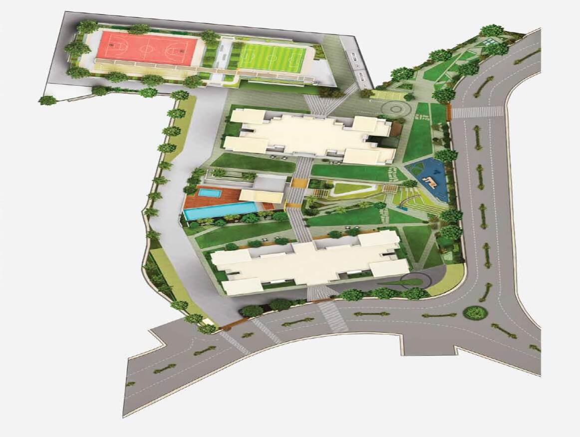 godrej golf meadows master plan image1