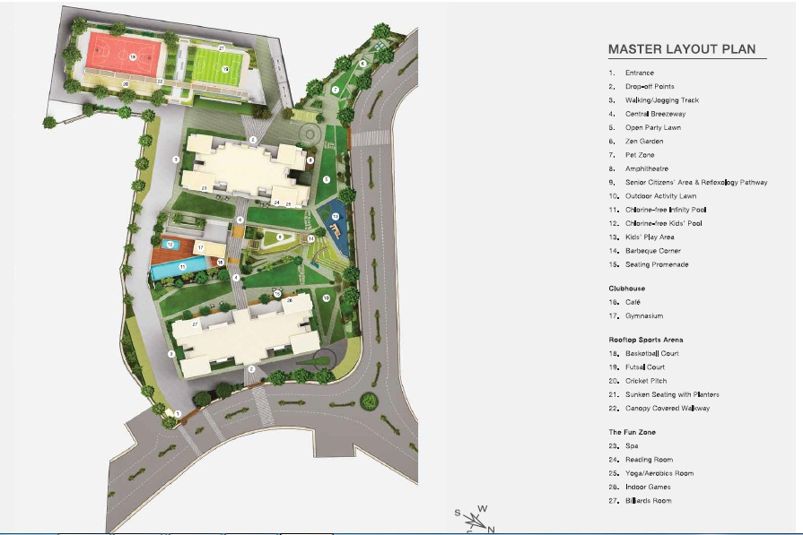 godrej golf meadows master plan image15