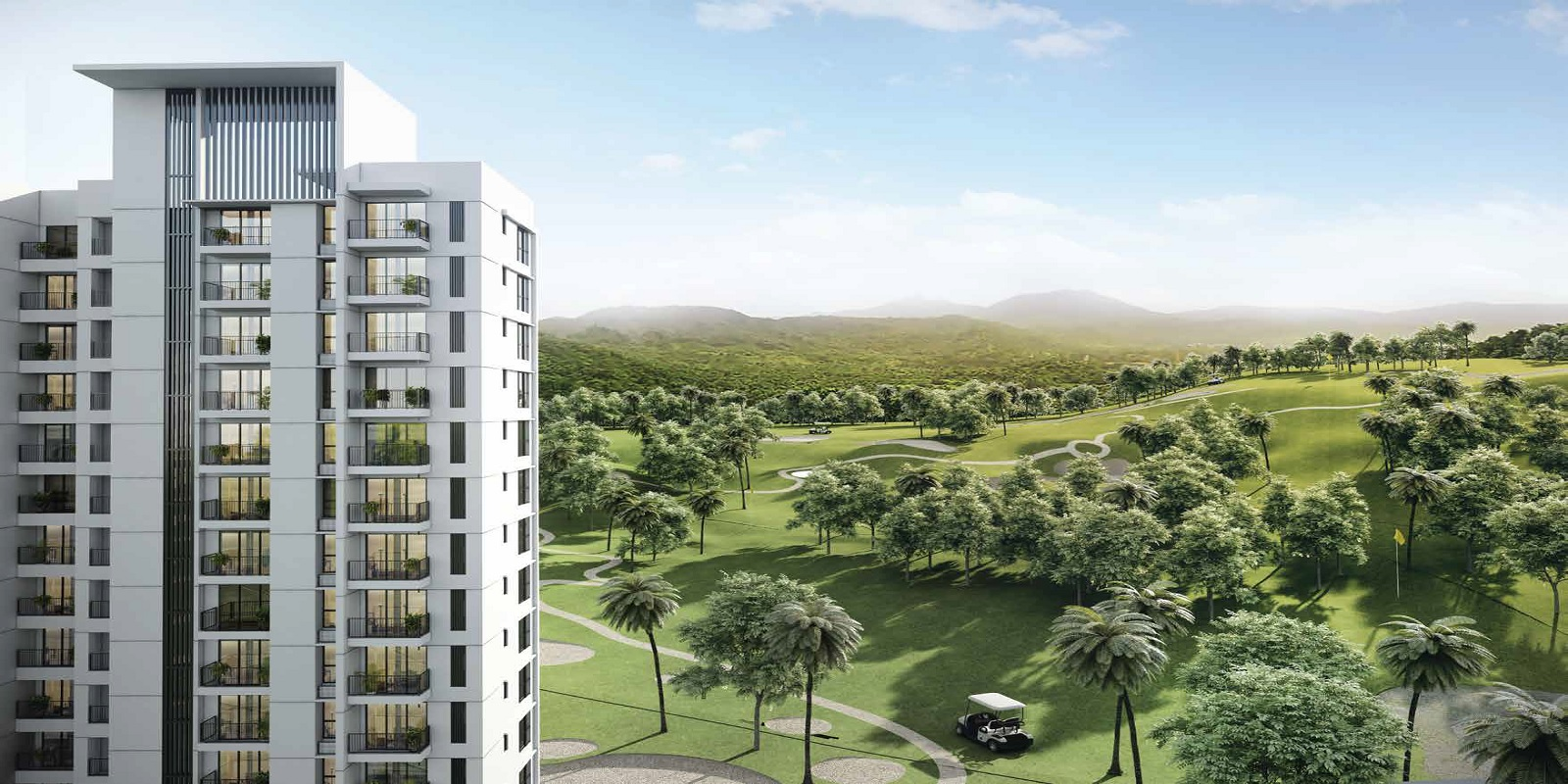godrej golf meadows tower view14