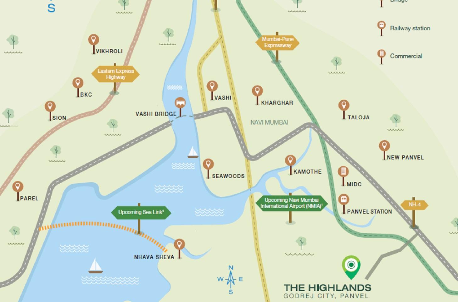 godrej the highlands project location image1