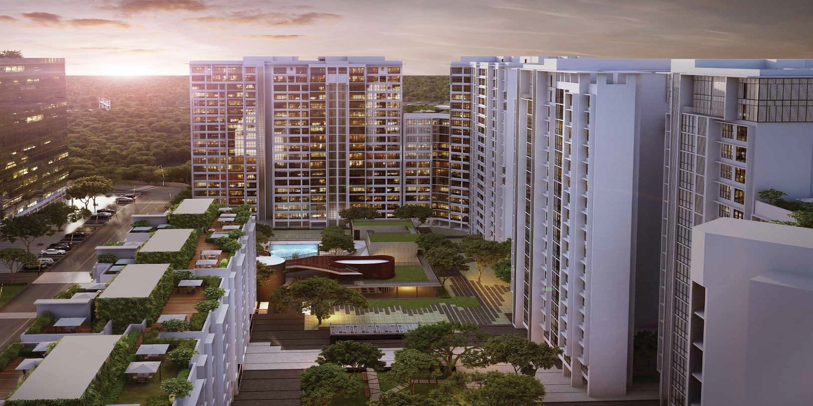 godrej the trees tower view31