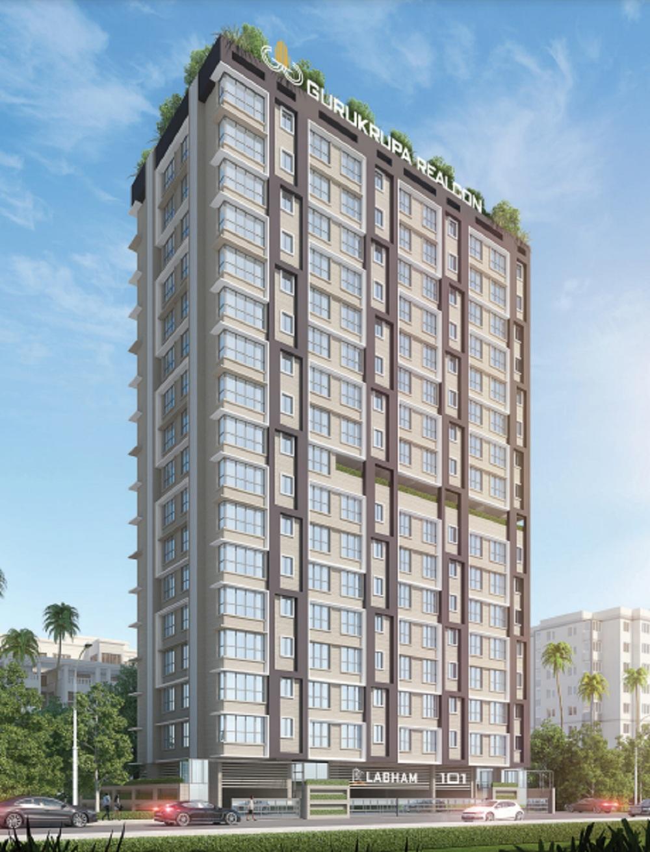 gurukrupa labham project tower view2