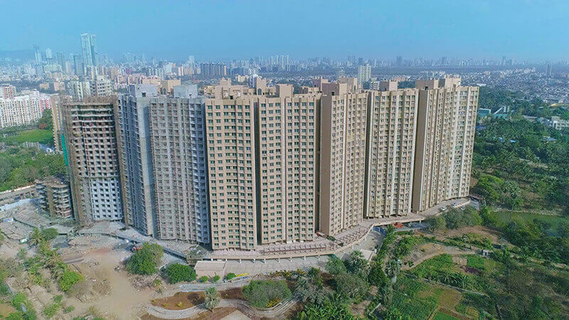 gurukrupa marina enclave wings m n phase ii project tower view3