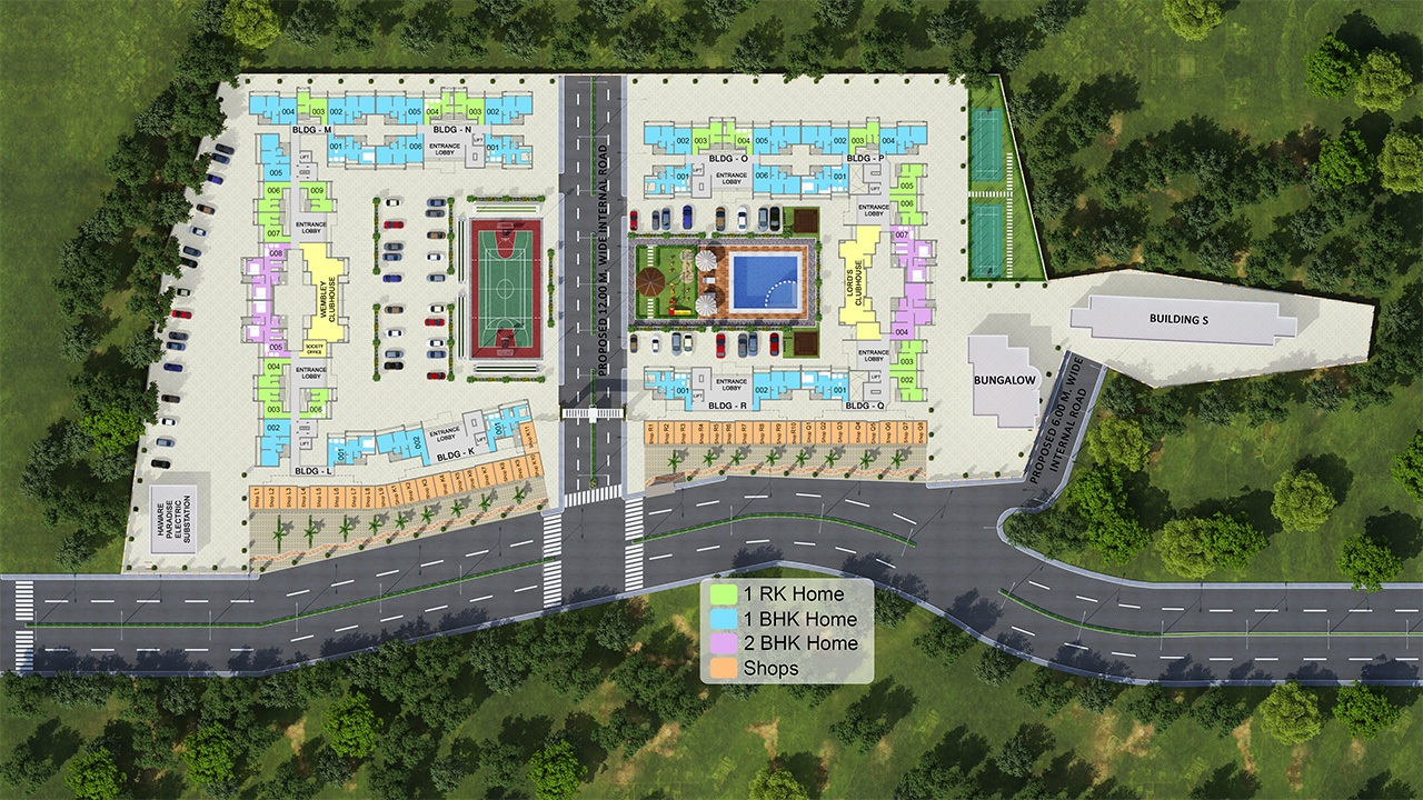 haware paradise project master plan image1