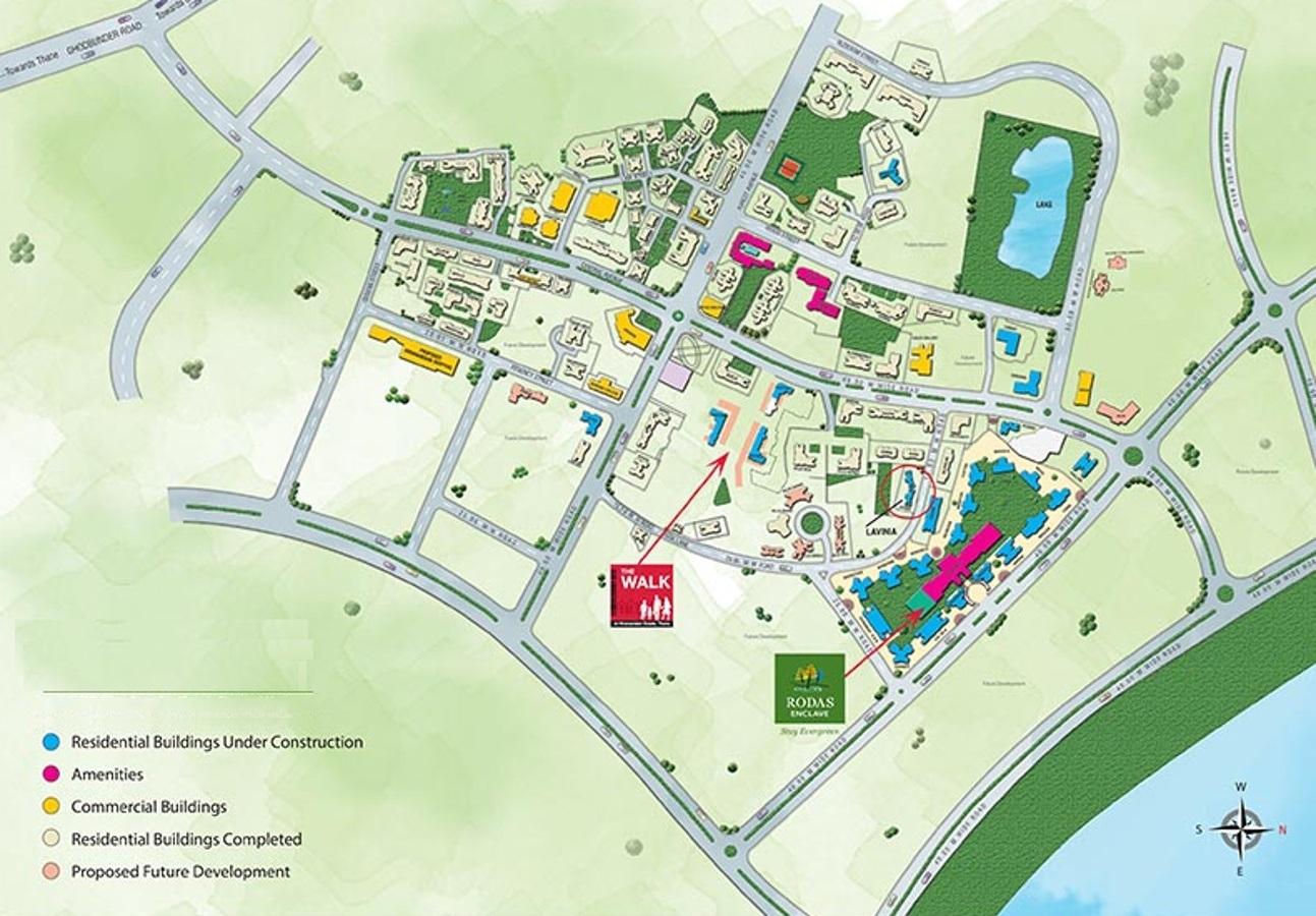hiranandani basilius project location image1