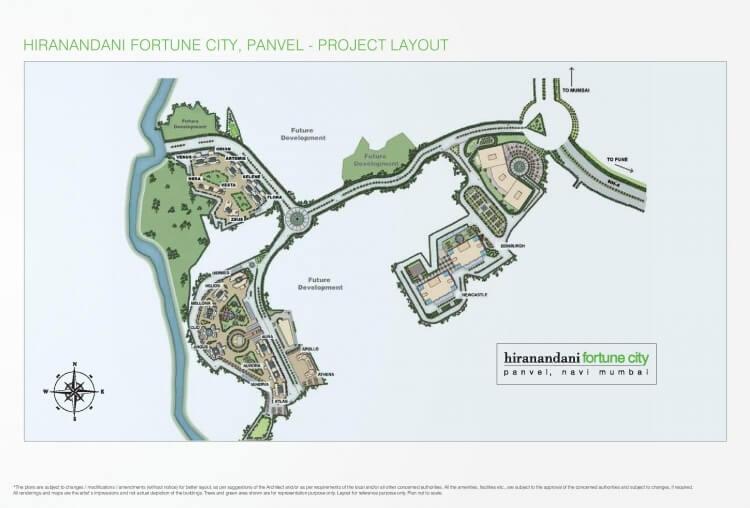 hiranandani fortune city master plan image1