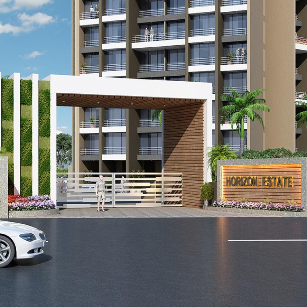 horizon estate project entrance view1