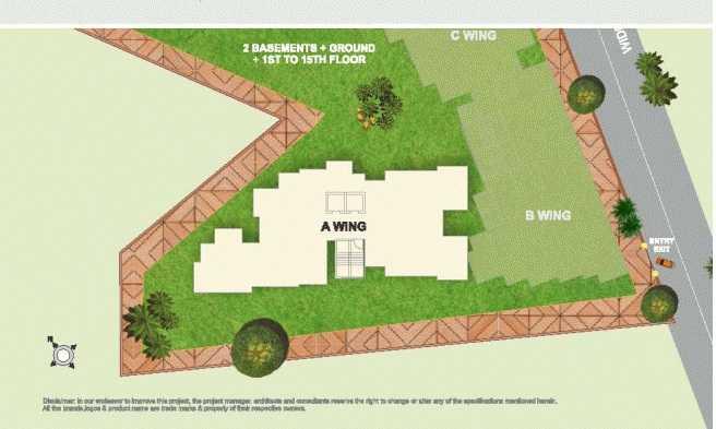 hubtown serene master plan image6