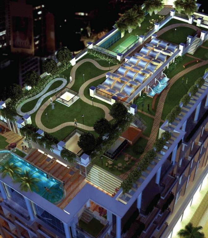 hubtown sunmist project tower view1
