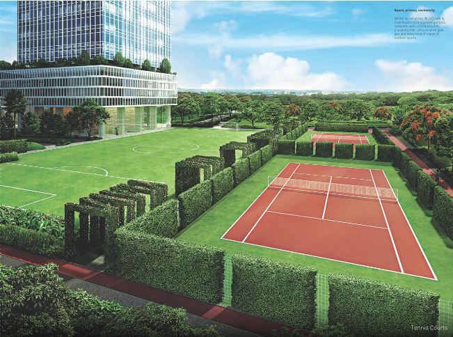 indiabulls blu tower a project amenities features1
