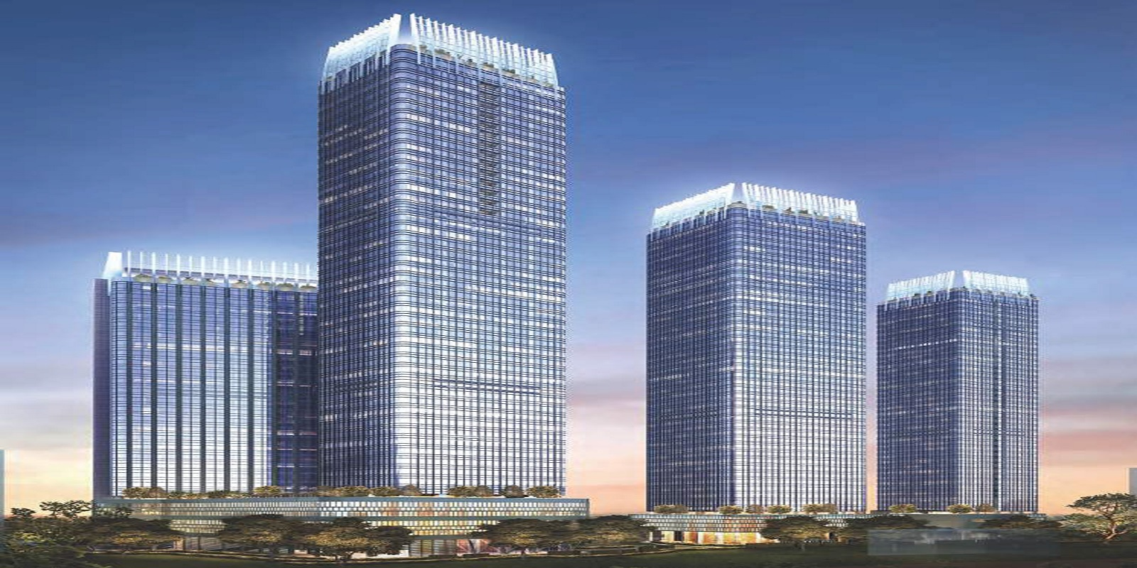 indiabulls blu tower a project project large image1