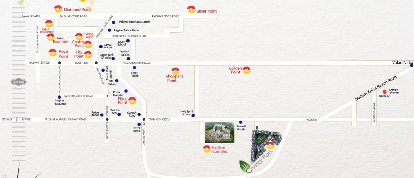 k k crystal park project location image1